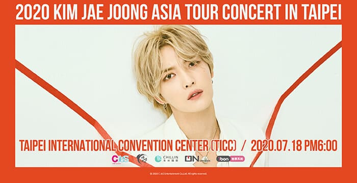 2020 KIM JAE JOONG ASIA TOUR CONCERT IN TAIPEI